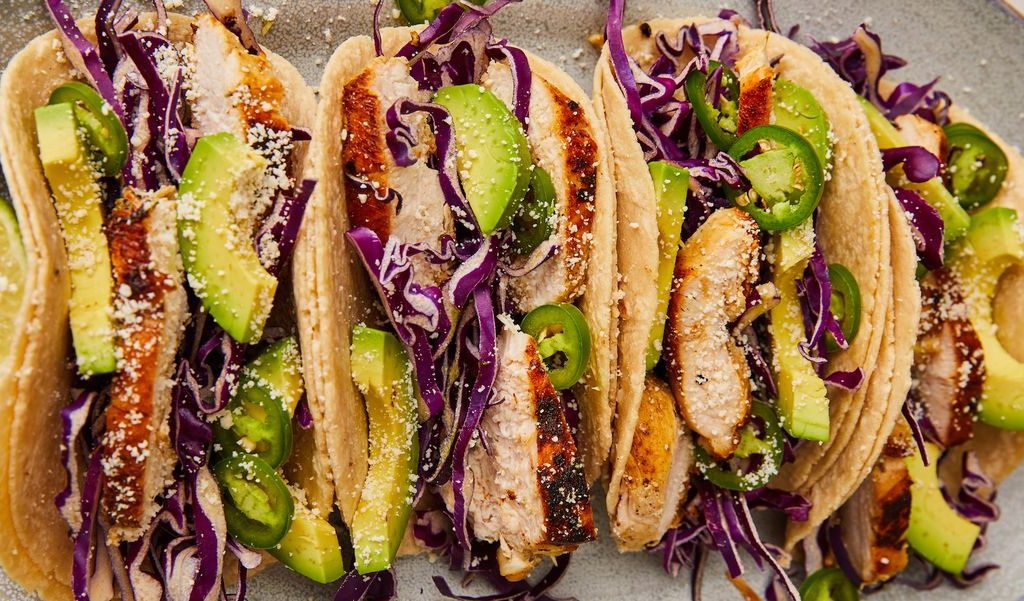 How to make Tequila-Lime Chicken Tacos?